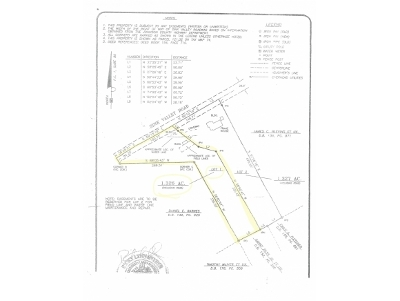 Butler Residential Lots & Land For Sale: TBD Sink Valley Road