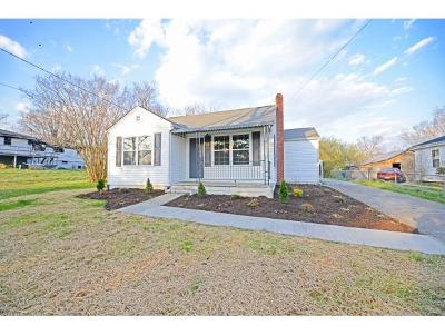 Greeneville TN Single Family Home For Sale: $104,900