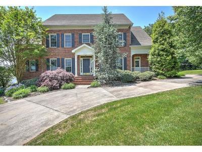 Kingsport Single Family Home For Sale: 644 Red Oak Plantation