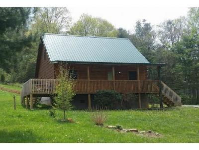 Roan Mountain Single Family Home For Sale: 126 Trout Run Cove