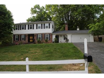 Bristol Single Family Home For Sale: 105 Oak Forest Drive