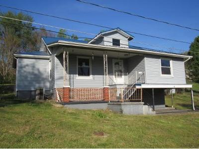 Bristol VA Single Family Home For Sale: $52,500