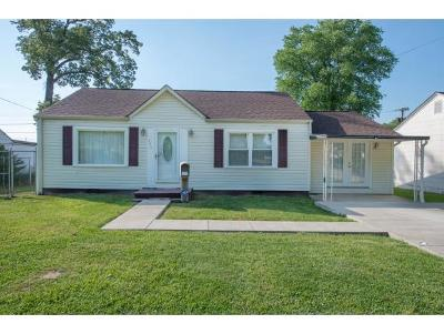 Kingsport TN Single Family Home For Sale: $122,500