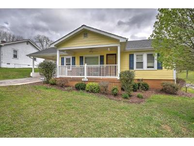 Kingsport TN Single Family Home For Sale: $143,500