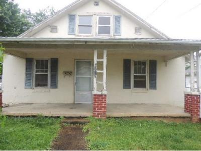 Kingsport TN Single Family Home For Sale: $24,900