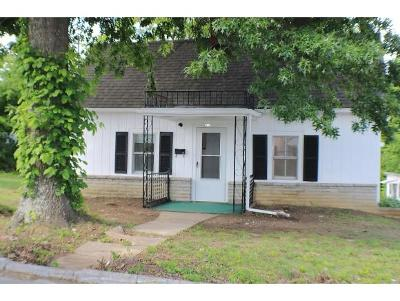 Greeneville TN Single Family Home For Sale: $89,000