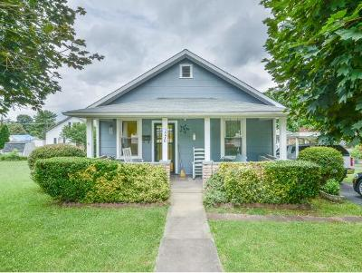Kingsport TN Single Family Home For Sale: $80,000
