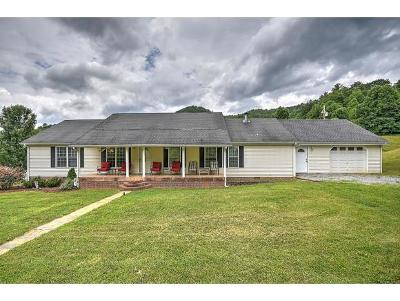 Erwin Single Family Home For Sale: 1524 Coffee Ridge Loop
