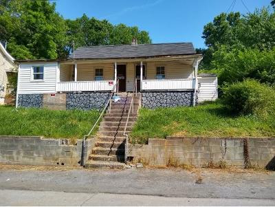 Bristol VA Single Family Home For Sale: $38,500