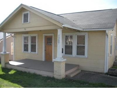 Kingsport TN Single Family Home For Sale: $74,500