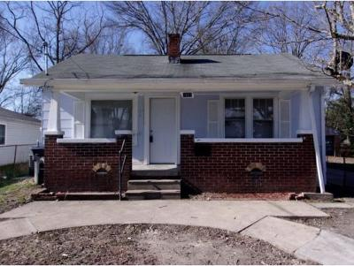 Kingsport TN Single Family Home For Sale: $59,000