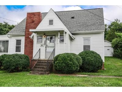 Kingsport TN Single Family Home For Sale: $91,500