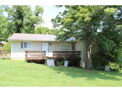 Kingsport TN Single Family Home For Sale: $68,000