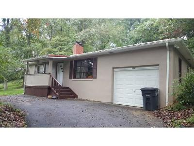 Kingsport TN Single Family Home For Sale: $87,500