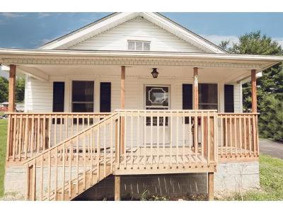 Elizabethton TN Single Family Home For Sale: $99,000