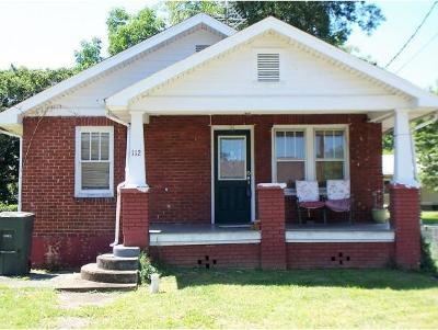 Elizabethton Single Family Home For Sale: 112 West H Street