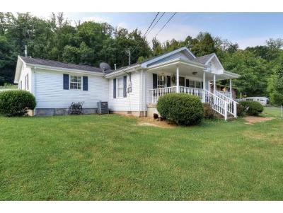 Elizabethton Single Family Home For Sale: 1456 Dry Creek Road