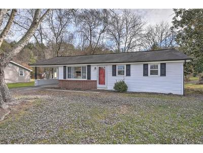 Kingsport TN Single Family Home For Sale: $104,900