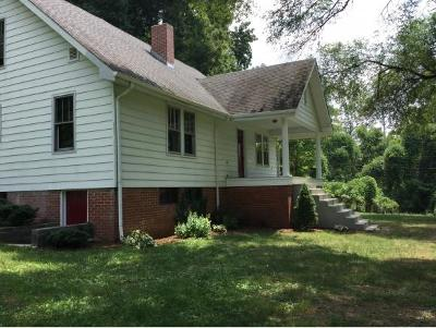 Bristol Single Family Home For Sale: 22287 Benhams Road