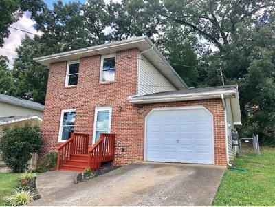 Kingsport TN Single Family Home For Sale: $84,900
