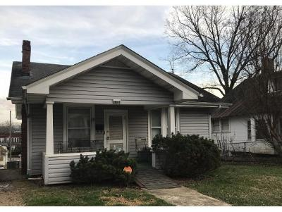 Johnson City Single Family Home For Sale: 115 W Holston Ave