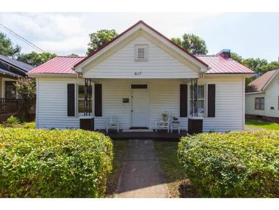 Bristol Single Family Home For Sale: 617 6th Street