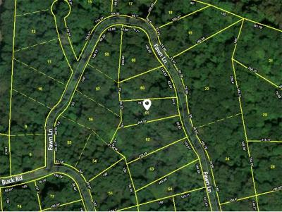 Unicoi Residential Lots & Land For Sale: TBD Fawn Lane Lot #61