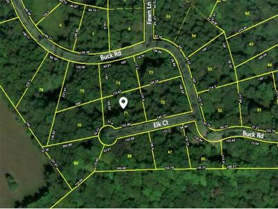 Unicoi Residential Lots & Land For Sale: TBD Elk Court Lot #71
