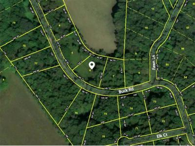 Unicoi Residential Lots & Land For Sale: TBD Buck Road Lot #6