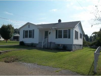 Kingsport TN Single Family Home For Sale: $73,500