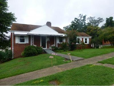 Kingsport TN Single Family Home For Sale: $102,000