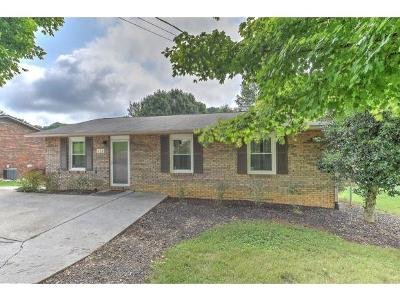 Kingsport TN Single Family Home For Sale: $112,000