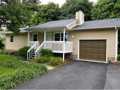 Johnson City TN Single Family Home For Sale: $144,900