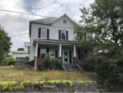 Bristol VA Multi Family Home For Sale: $89,000