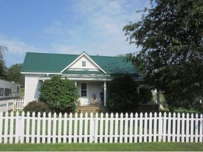 Elizabethton Single Family Home For Sale: 116 Cecil Vanhuss Road