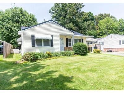 Bristol VA Single Family Home For Sale: $99,900