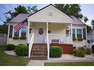 Kingsport TN Single Family Home For Sale: $140,000