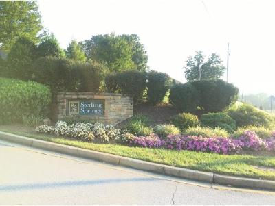 Johnson City Residential Lots & Land For Sale: 221 Sterling Springs Dr