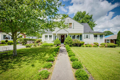 Kingsport Single Family Home For Sale: 1621 Crescent Drive