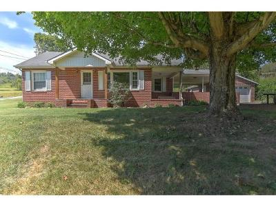 Single Family Home For Sale: 796 Watauga Road