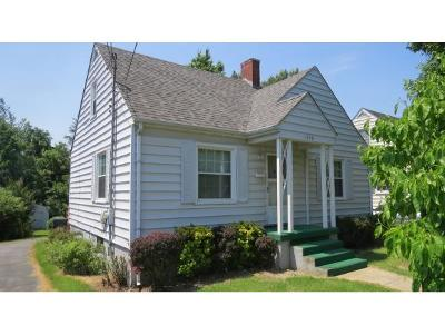 Bristol VA Single Family Home For Sale: $81,900