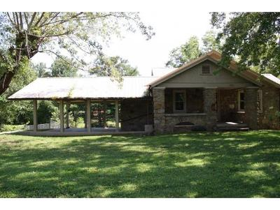Single Family Home For Sale: 4378 Cosby Hwy