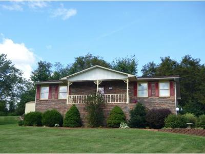Kingsport TN Single Family Home For Sale: $165,500