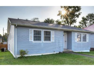 Kingsport TN Single Family Home For Sale: $99,900