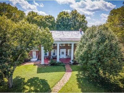 Greeneville, Greenville, Greneville, Blountvile, Blountville, Bristol, Church Hill, Johnson City, Kingport, Kingpsort, Kingsoprt, Kingspoet, Kingsport, Rogersville, Erwin, Gray, Jonesboro Single Family Home For Sale: 1407 Lone Oak Road