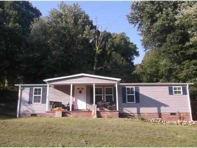 Jonesborough Single Family Home For Sale: 274 Bulldog Miller Rd