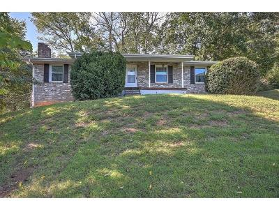 Kingsport TN Single Family Home For Sale: $129,900