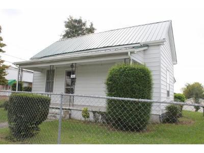 Bristol TN Single Family Home For Sale: $44,300