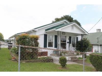 Bristol TN Single Family Home For Sale: $68,500