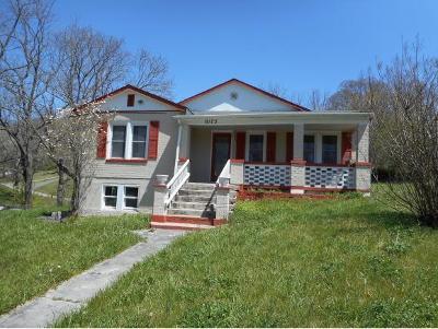 Bristol VA Single Family Home For Sale: $60,000